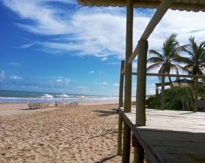 A Praia de Santo Antônio é uma tranquilidade, muitas vezes deserta