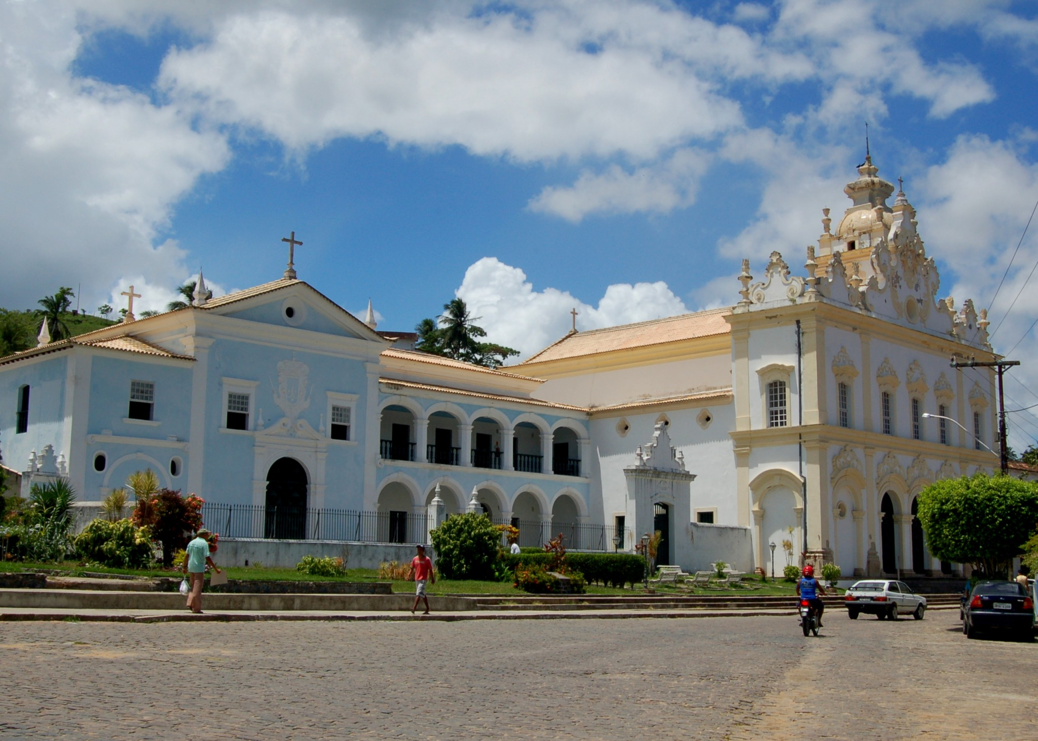 Cidade Histórica de Cachoeira na Bahia